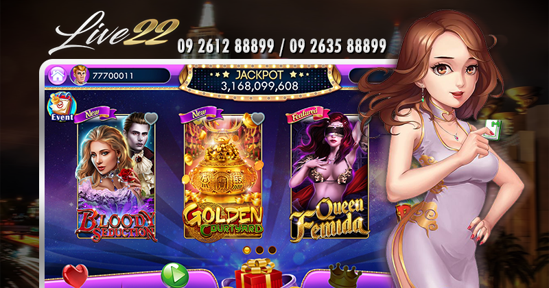 Live Casino Slot Online