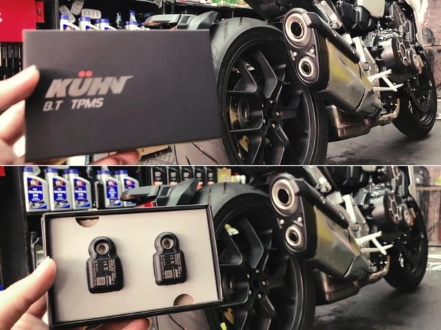 庫恩國際 KUHN K-1 藍牙胎壓偵測器:胎內式+藍牙 4.0,用手機一手掌掌握輪胎資訊
