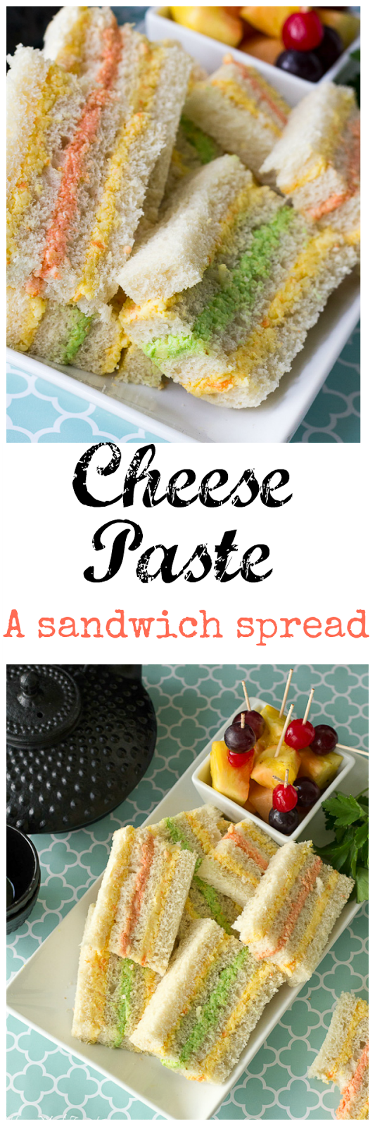 Cheese Paste Spread - A Caribbean cheese spread filled with flavors of mustard, mayonnaise and pepper sauce