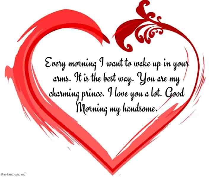 good morning msg for husband romantic