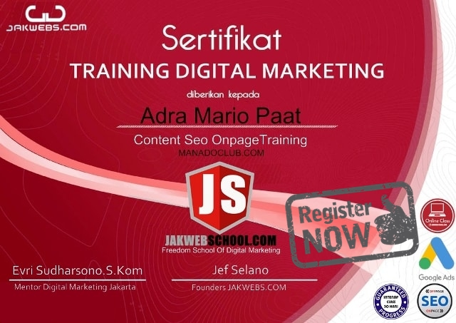 KURSUS DIGITAL MARKETING BERSERTIFIKAT