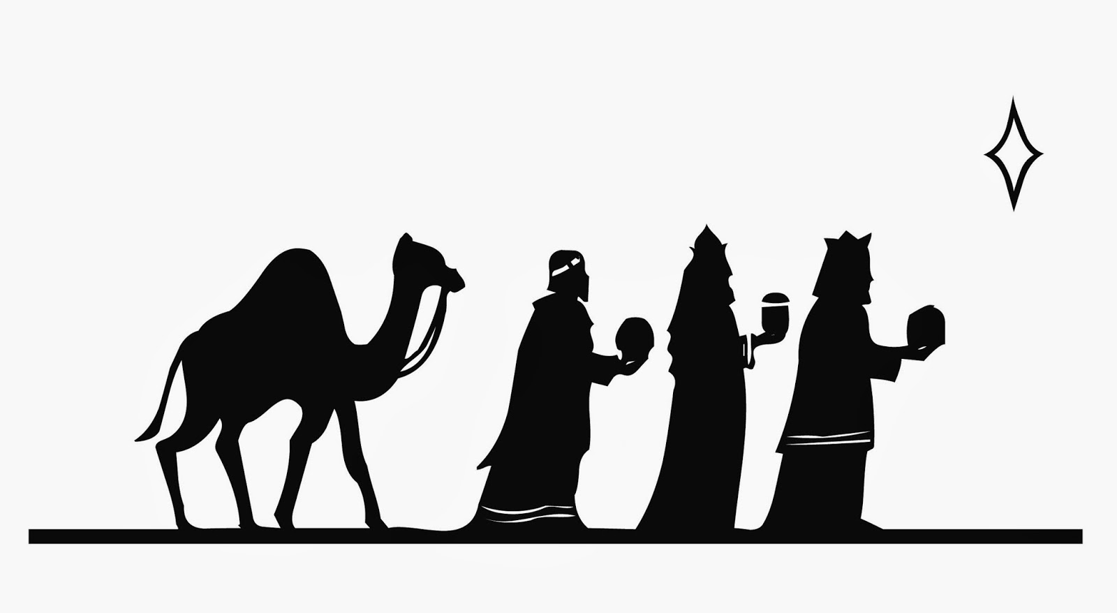 Search Results For Three Wise Men Silhouette Calendar