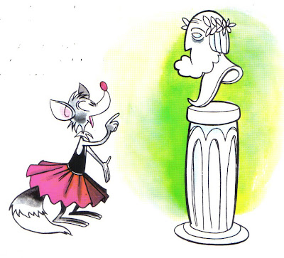 la zorra y el busto