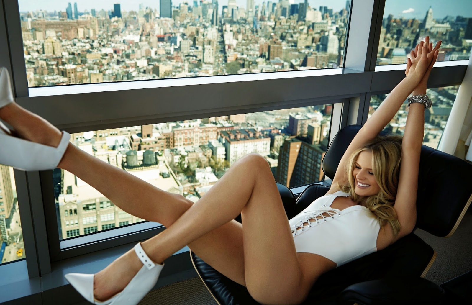Anne Vyalitsyna For FHM Magazine, China, May 2014