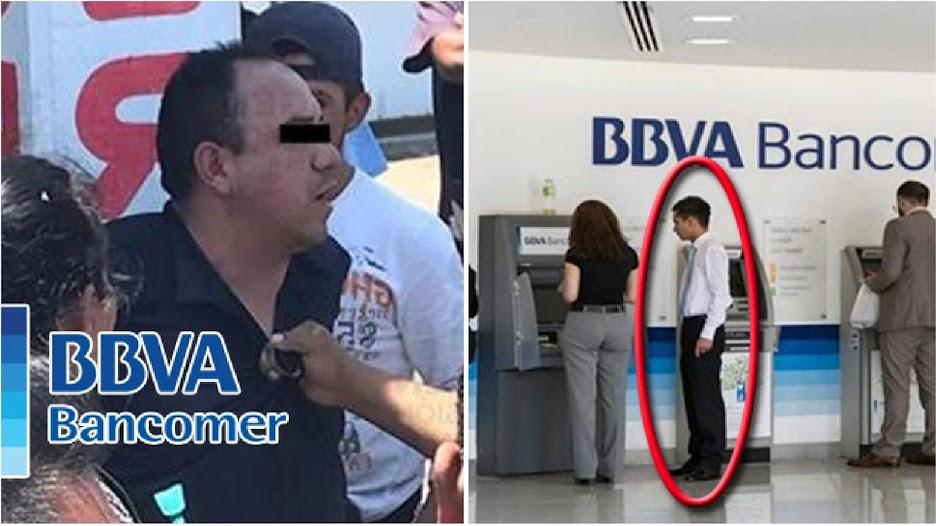 Ratero confesó que los empleados de Bancomer son sus cómplices en asaltos a clientes en Puebla