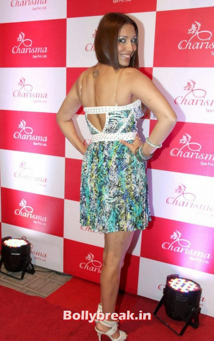 Pooja Misra, Sanjeeda Sheikh, Pooja  Misra at Charisma Spa Launch at Lokhandwala Mumbai