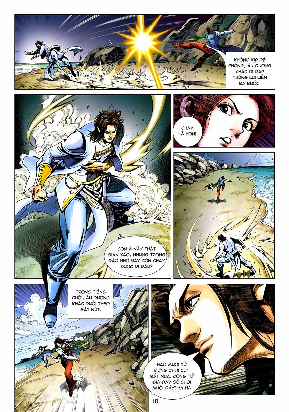 Anh Hùng Xạ Điêu anh hùng xạ đêu chap 54: kiếp hậu dư sinh thiến nữ kỳ mưu trang 10