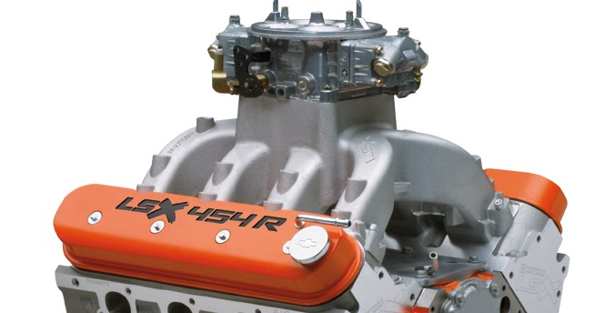 Drag Racer: LSX 454-R Crate Engine from GM Performance Parts