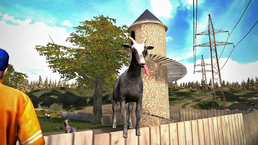 as 'Free App of the Week' on App Store. That means you can download and enjoy this $4.99 worth app  Goat Simulator at no charge this week
