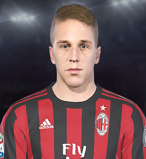 PES 2018 Faces Andrea Conti v2 by Prince Hamiz