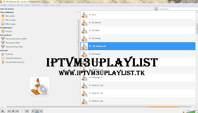 Iptv Portugal Playlist Channels on vlc