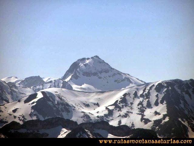 Ruta Requexón Valdunes, la Senda: Desde la Senda, vista del Torres