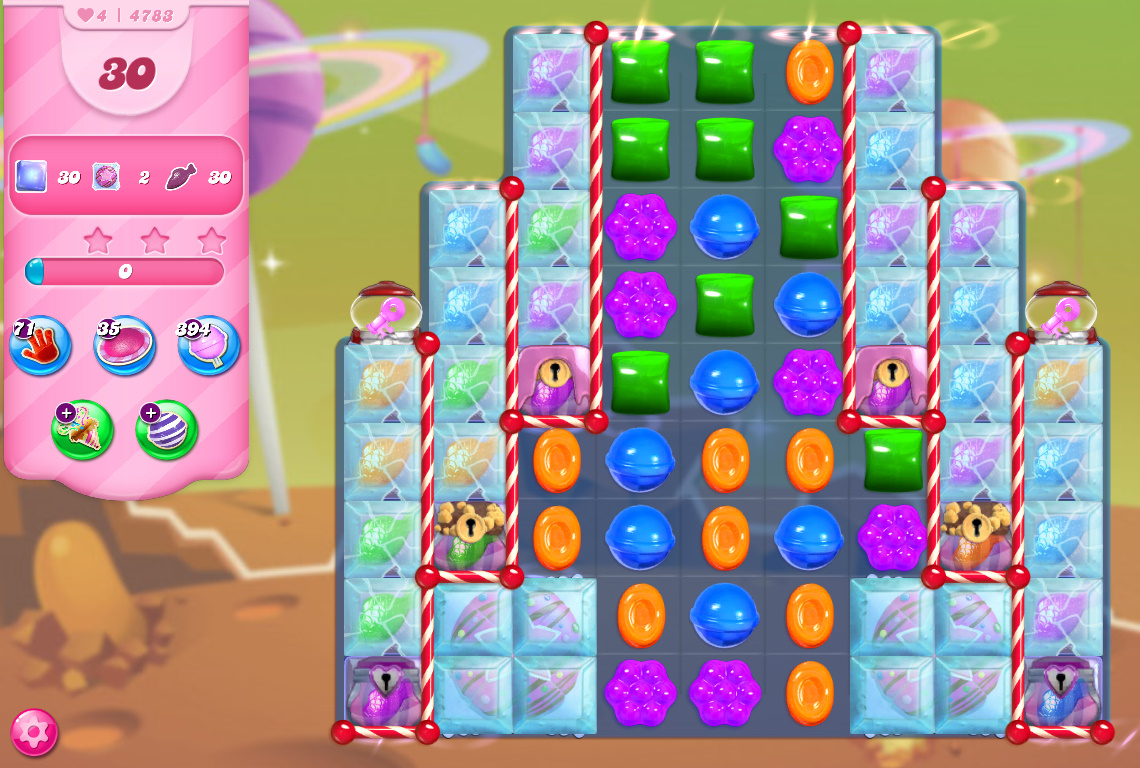 Candy Crush Saga level 4783