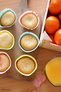 muffinki cytrynowo pomarańczowe