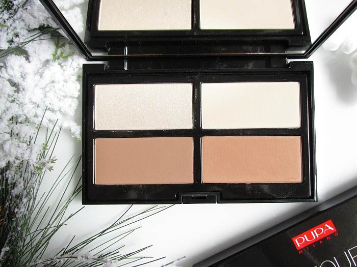 pupa Milano - #Ready4Selfie Contouring & Strobing Powder Palette in Light Skin