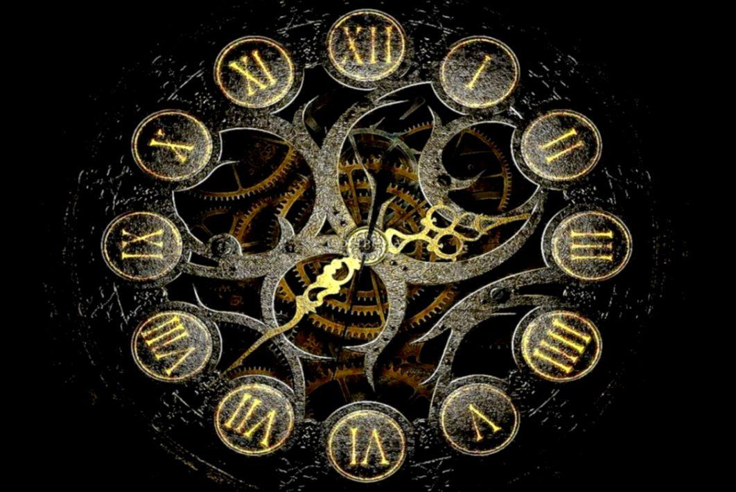 Time Travel Clock Wallpaper Free Desktop Bitonarnia