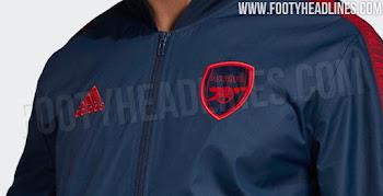 788b2faa1 Adidas Arsenal 19-20 Anthem Jacket Leaked