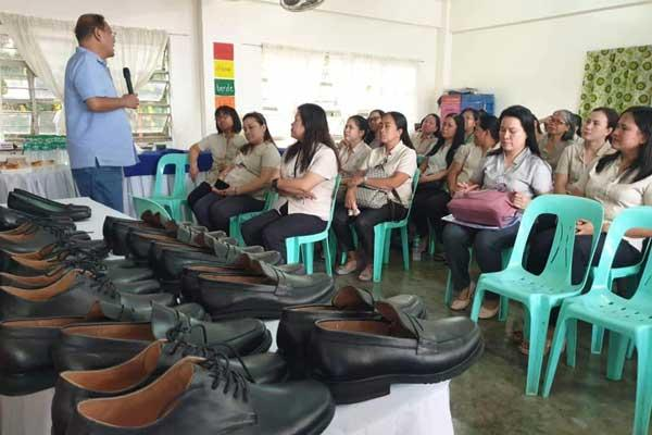 Free Leather Shoes to all Marikina Teachers and Non -Teaching Personnel