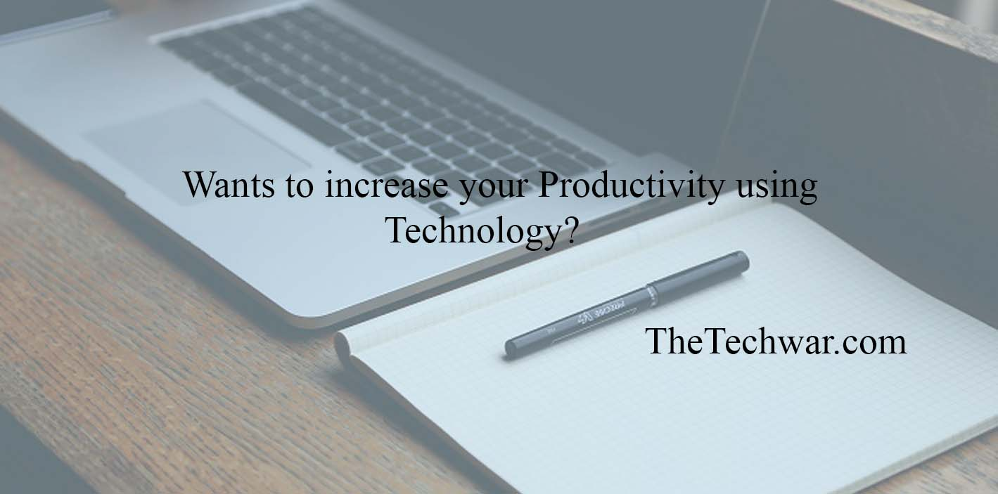the increase in using technology to Using technology to increase efficiency learn how these tools can boost your business' productivity print when you're running a small business, it can.