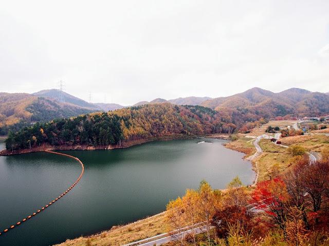 クリスタルライン 鳥居峠広場 乙女湖