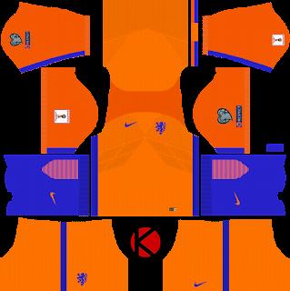 Netherlands Nike Kits 2017 - Dream League Soccer