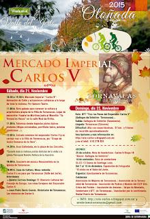 Mercado Imperial Carlos V. Otoñada Valle del Jerte