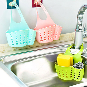 Подвесная корзинка для хранения кухонных принадлежностей