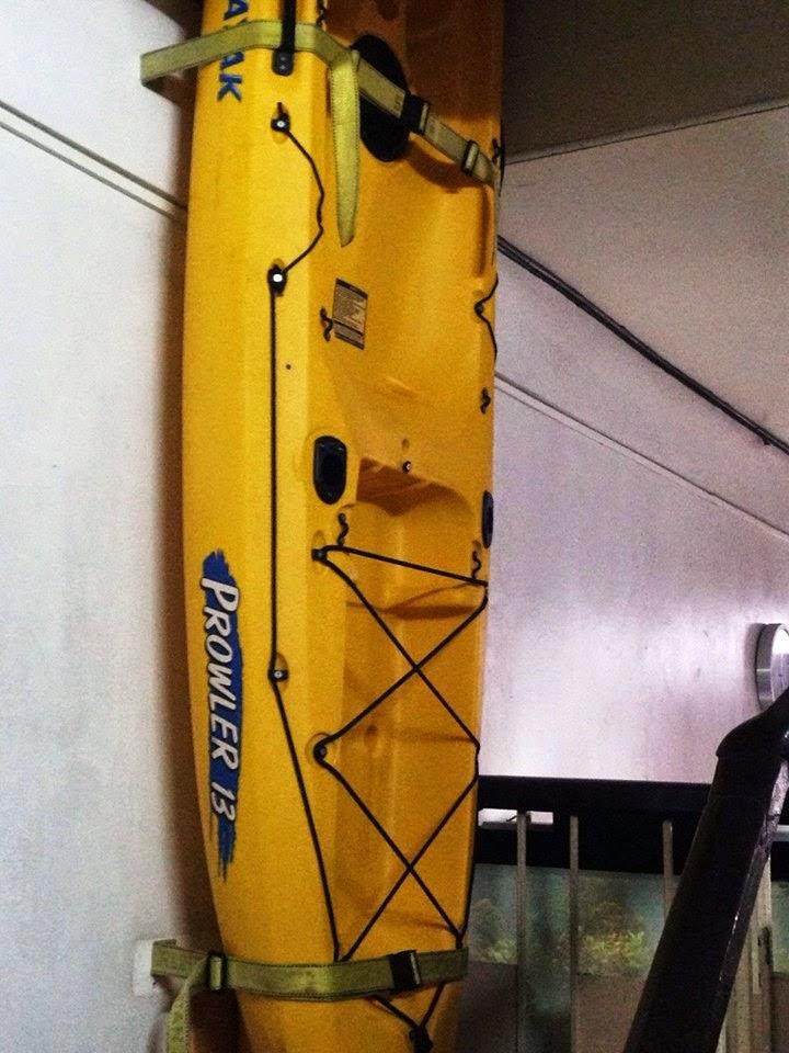 Kayak Ceiling Hanger. Kayak Storage On Pinterest Kayak ...