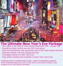 Happy New Year Eve Packages 2019