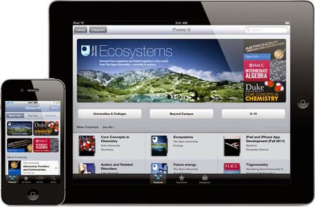 iTunesU para aprender en cualquier lugar y momento