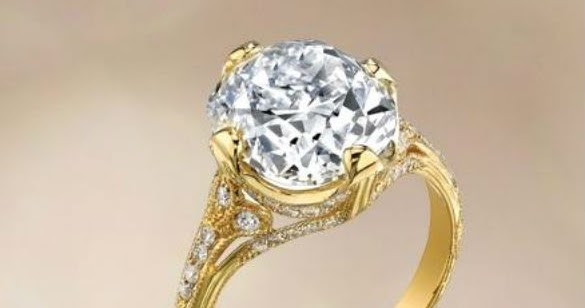 Miley Cyrus Engagement Ring! ~ Jewelove