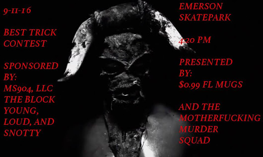Emerson Contest, Presented by Murder Squad - Sunday, September 11th, 2016