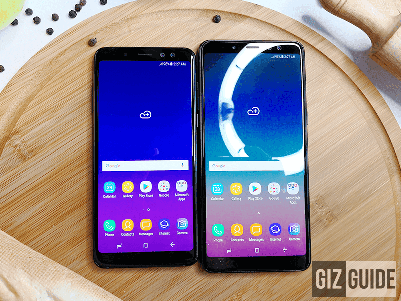samsung galaxy a6 and a6 with infinity display leaked. Black Bedroom Furniture Sets. Home Design Ideas