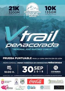 Clasificaciones Peñacorada Trail
