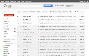 Google Mail Design Juli 2011