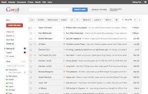 Google Mail Design Juli 2011