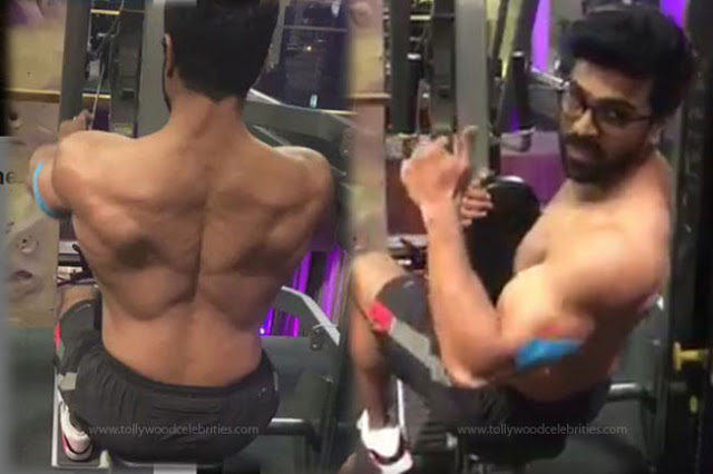 Ram Charan Body Building Photos