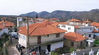 Το χωριό Μηλιές στην ορεινή Ηλεία