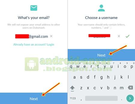 email dubsmash baru