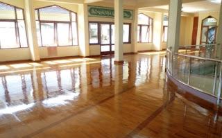 lantai kayu mesjid