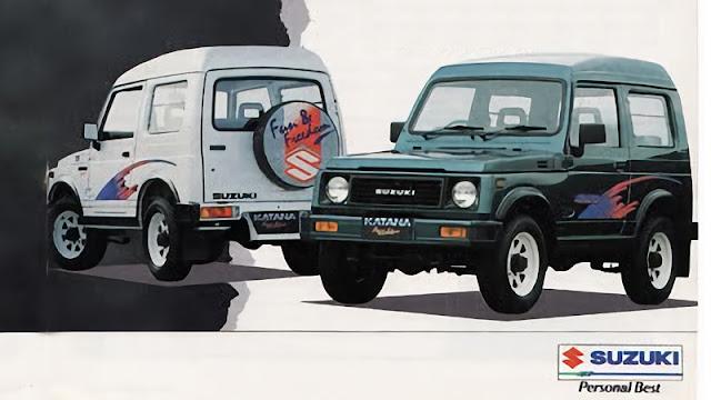 Suzuki Katana standar asli