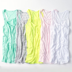 Custom Womens Flowy Racerback Fashion Tank Top - Color Choices