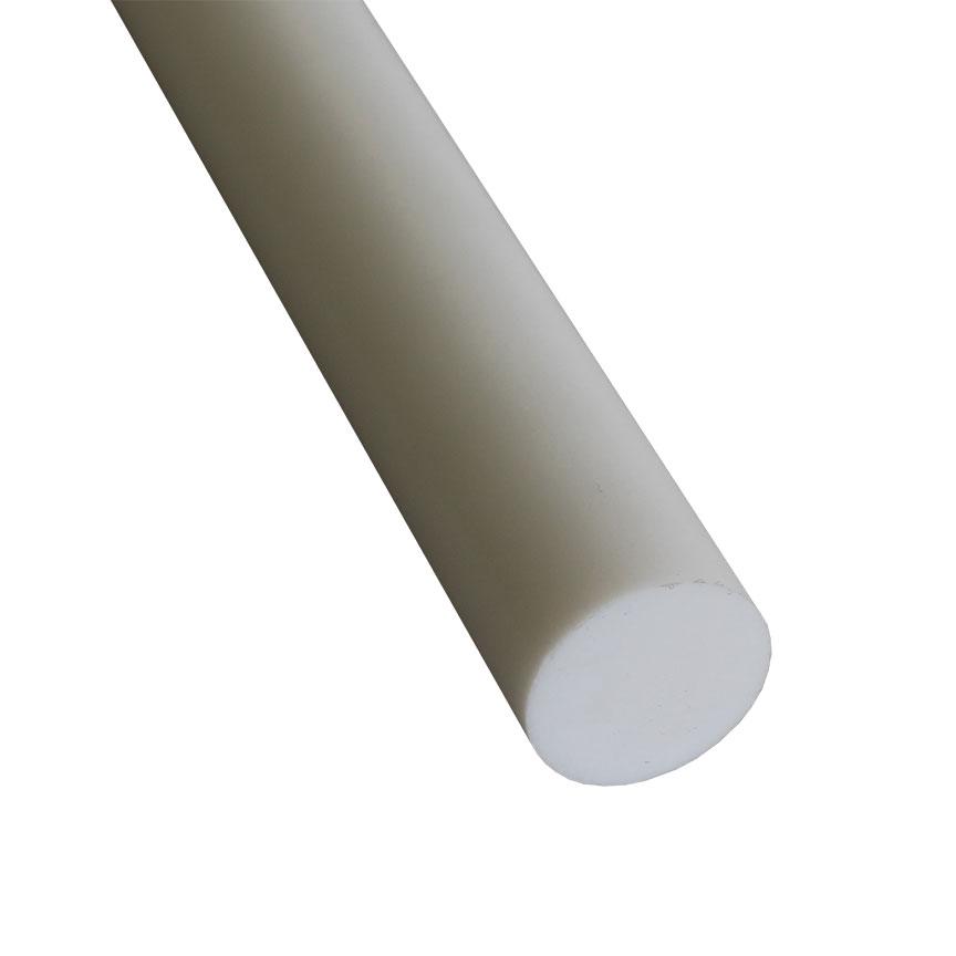 "Teflon PTFE Virgin White Rods 7//16 3 Unit .437/"" Diameter x 72/"" Long Extruded"