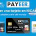 Como obtener tarjeta payoneer en Nicaragua