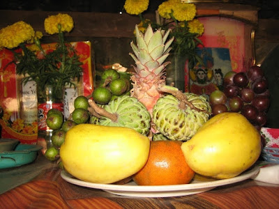Five-fruit tray symbolises VN's traditional culture on Tet