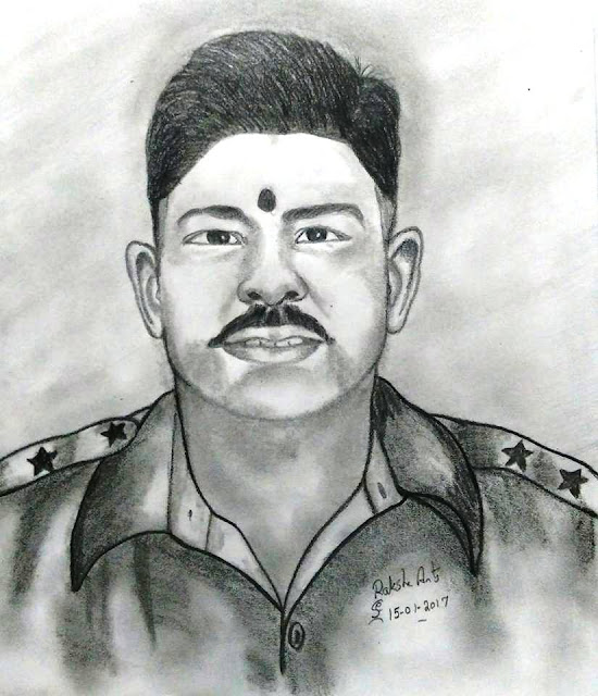 PENCIL DRAWING  - JASWANT SINGN RAWAT