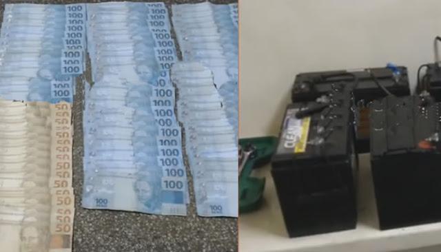 Dois homens são presos em flagrante em São João por furto de bateria da torre da Vivo