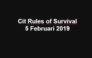 Link Download File Cheats Rules of Survival 5 Feb 2019