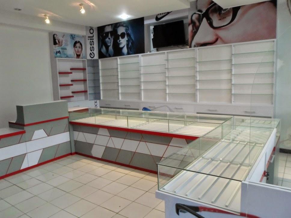 Display Etalase Toko Optik Kacamata - Custom Furniture Semarang