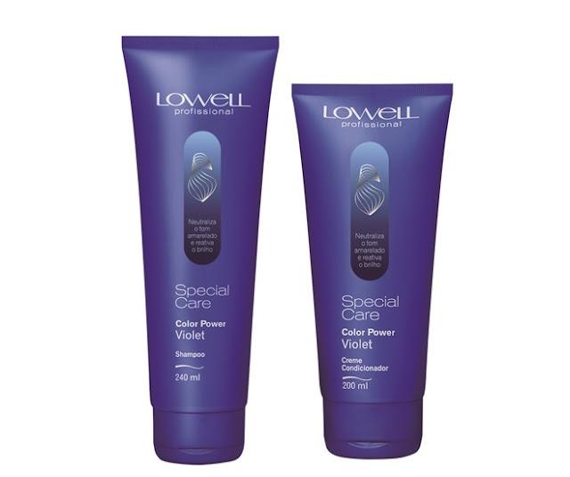 Shampoo e condicionador desamareladores